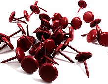 400, Red Enamel Decorative Upholstery