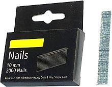 4000 Galvanised Nails 10mm 18 Gauge Nail Gun
