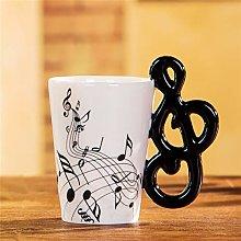 400ml Music Mug Coffee Tea Milk Stave Cups with