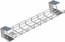 400mm (40cm) Long Premier Under Desk Cable Tray