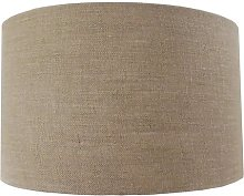 40cm Linen Drum Lamp Shade Mercury Row