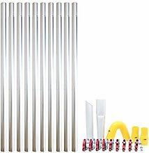 40ft 12m Long Reach Gutter Vacuum Pole Kit Set