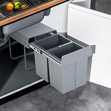 40Litre Pulll Out Recycling Waste Bin Kitchen