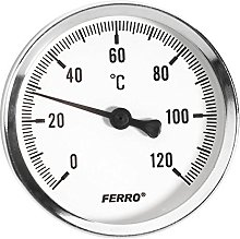 40mm 0-120C Thermo Water Oil Temperature Gauge