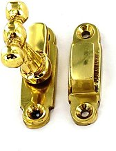 40mm Brass Showcase Cabinet Thumb Turn Catch