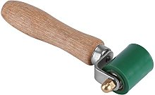 40mm Pressure Roller Solid Wooden Handle Silicone