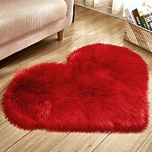 40x50cm / 15.7x19.6inch Tiny Heart Shape Faux
