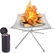 41.5 CM Portable Outdoor Camping Fire Pit - 2021