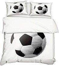 416 3D Football Soccer Sports Bedclothes Boys