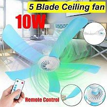 41cm 220V 10W Mini Ceiling Fan Hanging Summer