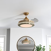 42' LED Ceiling Fan Blade Light Chandelier