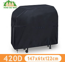 420D OXFORD BBQ Grill Covers 147x61x122cm