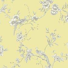 422804 Chinoise Yellow Wallpaper 422804 - Arthouse