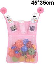 45 * 35CM Bath Tub Toy Organizer Mildew Resistant