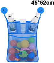 45 * 52CM Bath Tub Toy Organizer Mildew Resistant