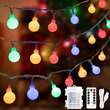 45 ft 80 LED Globe Fairy Lights with 8 Modes