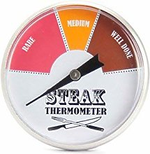 45 mm Stainless Steel Steak Thermometer Indicates