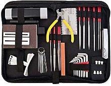 45-Piece Guitar Repairing Maintenance Tool Kit,