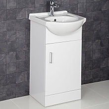 450mm Floorstanding Bathroom Vanity Unit Cabinet