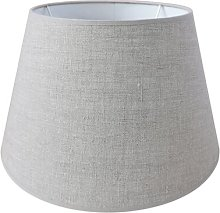 45cm Linen Empire Lamp Shape August Grove Colour: