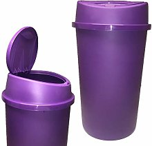 45L ALL PURPLE TOUCH TOP BIN / KITCHEN BIN / WASTE