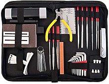 45pcs Guitar Repair Tool Kit, Domeilleur Practical
