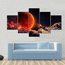 45Tdfc Wall Art Picture Canvas Print Red Planet