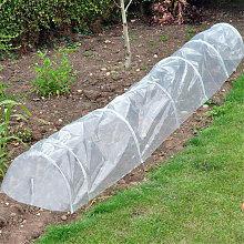 45x60x300cm Plant Grow Tunnel 100g Shade Net
