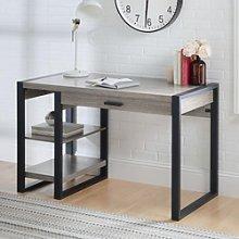 48 Wood Computer Desk - Driftwood