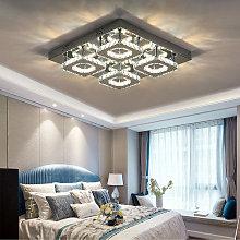 48W LED Ceiling Light Crystal Chandelier Pendant