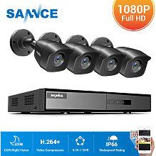 4CH 960H HD DVR 4pcs 1080P IR outdoor CCTV Home