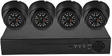 4CH Security Camera, Coaxial Home Security Camera