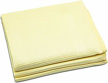 4Clean microfibre cleaning cloths (Yellow, 68x42cm