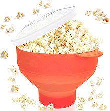 4EVERHOPE Microwave Collapsible Popcorn Popper