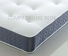 4FT Memory Form Mattress with Quilted Tufted