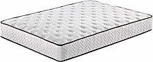 4FT6 Sprung Memory Foam Mattress - Sleeping Sprung