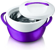4L Insulated Hot Pot Food Warmer Casserole Thermal