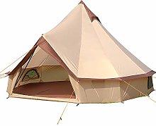 4m Bell Tent,Lightweight Camping Tent 4-Season