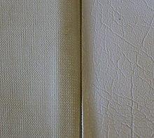 4m x 1.4m Of AestheTex White Vinyl Fabric - Ideal
