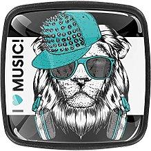 (4Pack) Cabinet Knobs Draw Pulls Door Knobs Lion