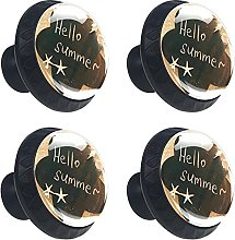 (4Pack) Cabinet Knobs for Kitchen Cabinets