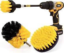 4Pack Drill Brush Power Scrubber Cleaning Brush