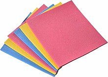 4pc Cellulose Sponge Dishcloth OilFree Cleaning