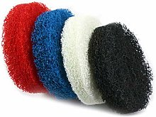 4PCS 4 Inch 100mm Polyester Scrubbing Pads