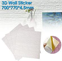 4PCS 70*70CM 3D Brick Pattern Wall Panels Stickers
