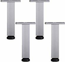 4pcs Adiustable Metal Table Legs Furniture Feet