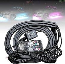 4PCS APP Control Car Flexible 12V LED Strip