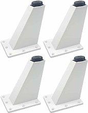 4pcs Furniture Cabinet feet Adjustable Aluminum
