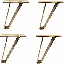 4pcs Furniture Legs, 15cm/18cm Triangle Furniture