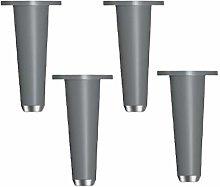 4pcs Furniture Legs Adjustable Metal,Solid